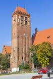 Castello teutonico in Kwidzyn, Polonia Fotografie Stock