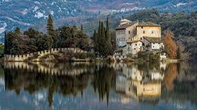 Castello Toblino - Calavino, Trentino Alto Adige L'Italia Immagini Stock