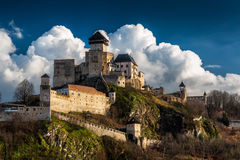 Castello Trencin Fotografia Stock Libera da Diritti