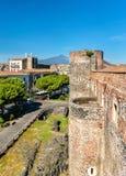 Castello Ursino, ένα μεσαιωνικό κάστρο στην Κατάνια, Σικελία, νότια Ιταλία Στοκ Εικόνα