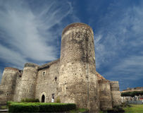 Castello Ursino is a castle in Catania, Sicily Stock Image