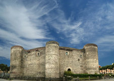 Castello Ursino is a castle in Catania, Sicily Royalty Free Stock Photos