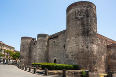 Castello Ursino in Catania, Sicily, southern Italy Stock Photo