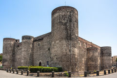 Castello Ursino in Catania, Sicily, southern Italy Royalty Free Stock Photography