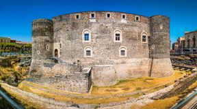 Castello Ursino Royalty Free Stock Images