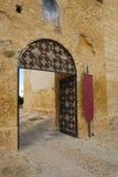 Castello Utrera dell'entrata Fotografie Stock Libere da Diritti