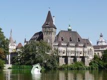 Castello Vajdahunyad, Budapest, Ungheria Immagini Stock Libere da Diritti
