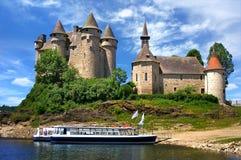 Castello in Val, Francia Immagine Stock Libera da Diritti