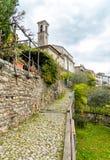 Castello of Valsolda village, Italy Royalty Free Stock Image