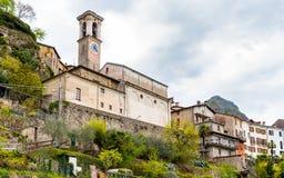 Castello of Valsolda village, Italy Stock Photo