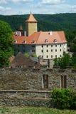 Castello Veveri vicino a Brno Fotografie Stock Libere da Diritti