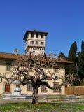 Castello vicino a Firenze in Italia immagini stock libere da diritti