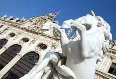 Castello Vienna di belvedere fotografie stock libere da diritti