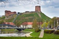 Castello a Vilnius Immagini Stock Libere da Diritti