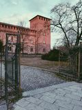 Castello Visconteo di Pavia obrazy stock