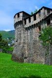Castello Visconteo en Locarno Fotos de archivo libres de regalías