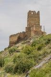 Castello Vozmediano, Soria, Castiglia-Leon, Spagna Fotografia Stock Libera da Diritti