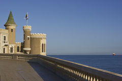Castello Wulff in Vina del Mar, Cile Immagini Stock
