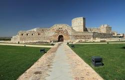 Castello a Zamora, Spagna Fotografie Stock Libere da Diritti