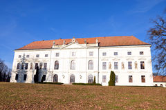 Castello - Zidlochovice Immagini Stock
