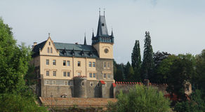 Castello Zruc nad Sazavou fotografia stock
