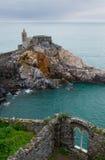 Castellodi Porto Venere, Italië royalty-vrije stock foto's