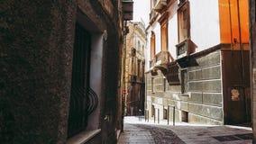 Castellokwart in Cagliari royalty-vrije stock foto