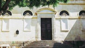 Castellokwart in Cagliari stock foto