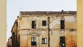 Castellokwart in Cagliari stock afbeeldingen