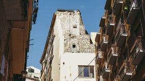 Castellokwart in Cagliari royalty-vrije stock foto's