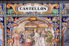 Castellon royalty free stock photography