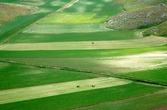 Castelluccio de Norcia, Umbría, Italia Imagen de archivo libre de regalías