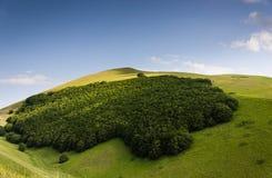 Castelluccio de Norcia - Umbría - Italia Imagen de archivo