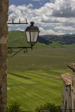 Castelluccio di Norcia/рояль большие - Умбрия - Италия Стоковое Изображение RF