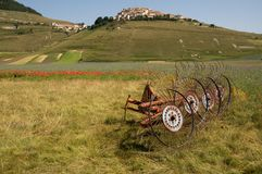 Castelluccio di Norcia Royalty Free Stock Photography