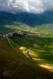 Castelluccio di Norcia. Fantastic view of Castelluccio di Norcia Royalty Free Stock Image