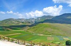 Castelluccio di Norcia, Italy Stock Photography