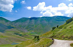 Castelluccio di Norcia, Italy Royalty Free Stock Images