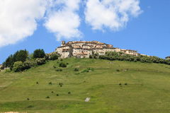 Castelluccio di Norcia in Italy Stock Photos