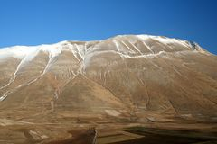 Castelluccio / mountain detail 4 Royalty Free Stock Photos