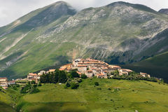 Castelluccio - Umbria - Italy Royalty Free Stock Photo