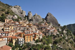 Castelmezzano Photos stock