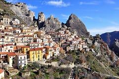 Castelmezzano imagenes de archivo