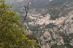 Castelmezzano Fotografie Stock