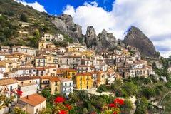Castelmezzano ,Basilicata, Italy Stock Photography