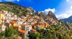 Castelmezzano, Basilicata. Italy Royalty Free Stock Photography