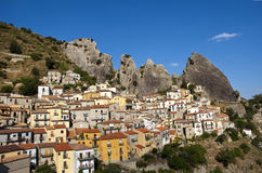 Castelmezzano country Basilicata 1 Stock Photo