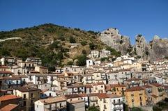 Castelmezzano Dolomit Lucane 01 Stockbilder