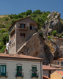Castelmezzano Italia Fotografia Stock Libera da Diritti