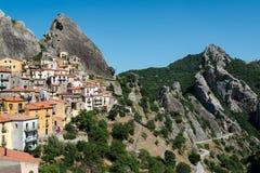 Castelmezzano Italy Royalty Free Stock Image